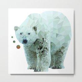 Jojo Bear Metal Print