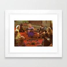 Aunt Daisy's Tea Party Framed Art Print