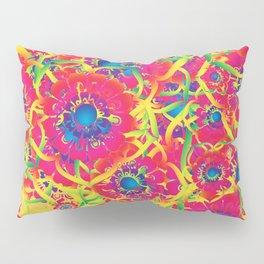Colorful floral artwork Pillow Sham