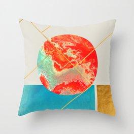 Earth & Sea #society6 #decor #buyart Throw Pillow