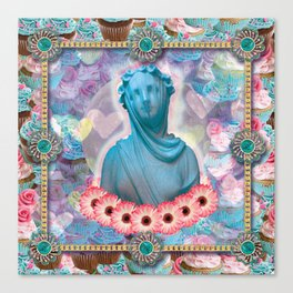 lady cakes Canvas Print