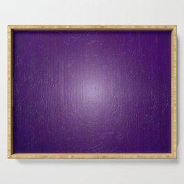 Purple Wall Serving Tray