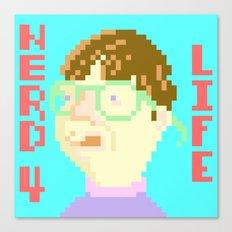 Nerd 4 Life Canvas Print