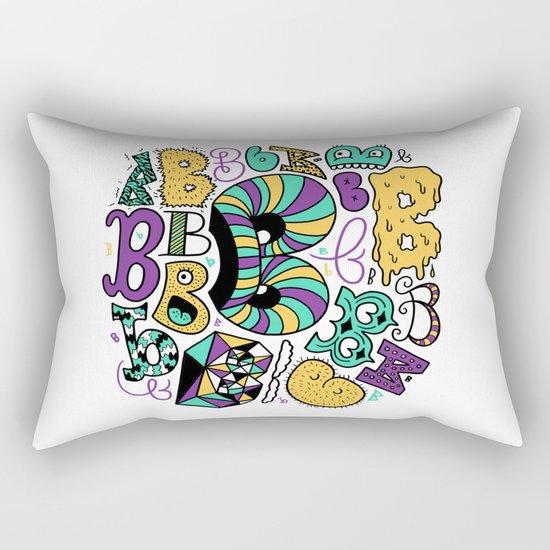 All the B's Rectangular Pillow