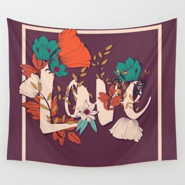 Type Love 001 Wall Tapestry