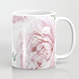 Pretty Pink Roses Flower Garden Coffee Mug