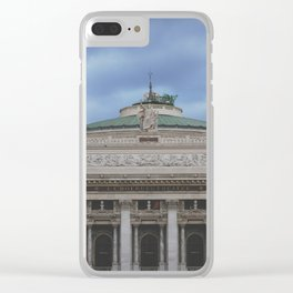 spring in vienna iid Clear iPhone Case