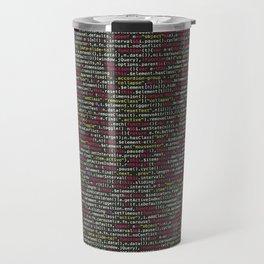 Developer's Terminal Pattern Travel Mug