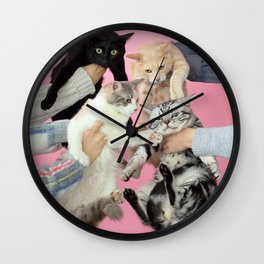 Kinoko Teikoku - Neko to Allergie Wall Clock