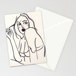 Under my skin Stationery Cards