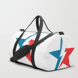 Bowie Star white Duffle Bag