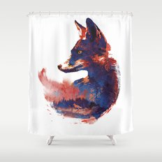 The Future is bright Shower Curtain