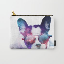 Space Frenchie  Carry-All Pouch