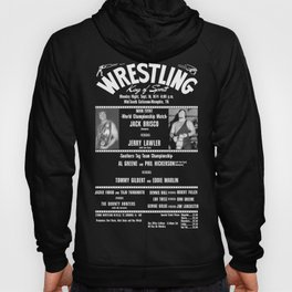 #1-B Memphis Wrestling Window Card Hoody