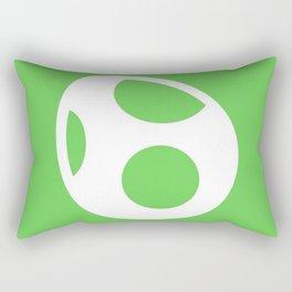 Green Egg Rectangular Pillow
