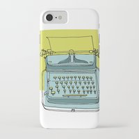 write iPhone & iPod Cases featuring Write! by Phillip Wells