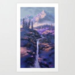 Mountain Stream Art Print