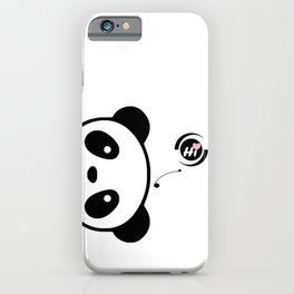 Little Panda: Hi! iPhone Case