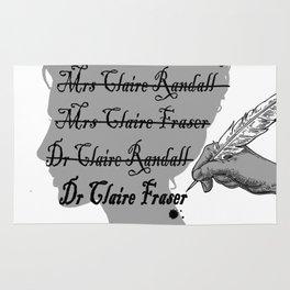 Claire Beauchamp Randall Fraser Rug
