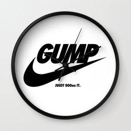 Gump Just Do It Wall Clock