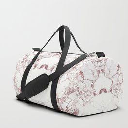Rose Gold Marble II Duffle Bag