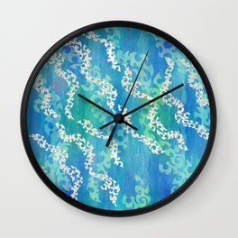 Shimmering Shoals Wall Clock