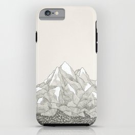 The Mountains and the Woods iPhone Case