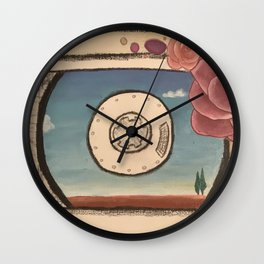 Natural Technology - vintage Wall Clock