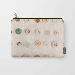 Buttons Carry-All Pouch