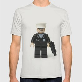 Old school cop Minifig T-shirt