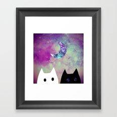 cat-25 Framed Art Print