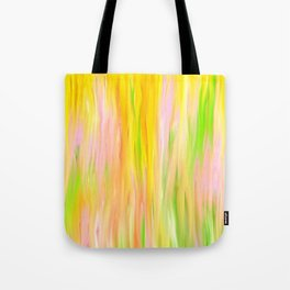 Yellow Sunshine Abstract Oil Painting Tote Bag