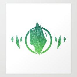 Seedling | Crystalline Art Print