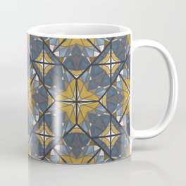 Mexican Tile Pattern Yellow Coffee Mug