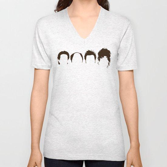 Seinfeld Hair Unisex V-Neck