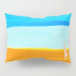 beach walk Pillow Sham