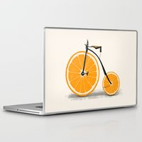 bicycle Laptop & iPad Skins featuring Vitamin by Florent Bodart / Speakerine