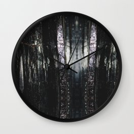 Abstract No 4 Wall Clock