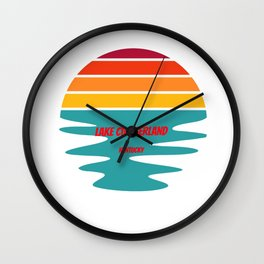 lake cumberland  for people who like lakes, vacations and national parks  Wall Clock