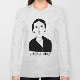 Virginia Woolf Long Sleeve T-shirt
