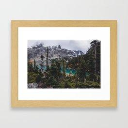 Joffre Lakes Framed Art Print