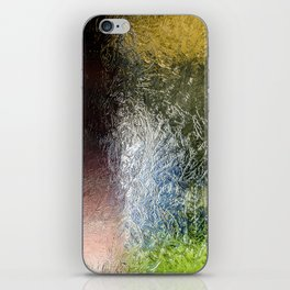Glass Abstract iPhone Skin