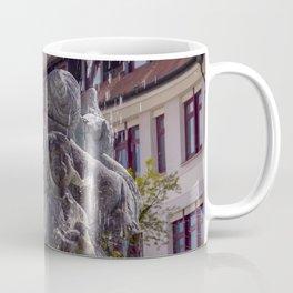 DE - Baden-Wurttemberg : Fountain on the Marketplace of Ehingen Coffee Mug
