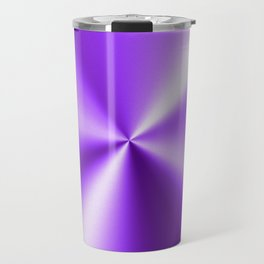 Metallic Purple Stainless Steel Print Travel Mug