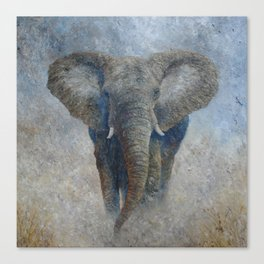 Elephant 2 Canvas Print