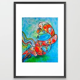 Water Souls Framed Art Print