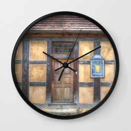 Apothecary House Wall Clock