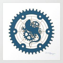 Odd Customs Logo  Art Print