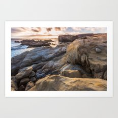 Point Lobos II Art Print