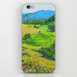 Alaska's Kenai Peninsula - Watercolor iPhone Skin